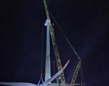 倒计时30天,新疆木垒老君庙项目加速风机吊装吹响冲锋号!