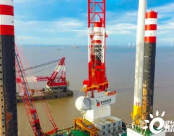 總投資約35億元 江蘇如東H14#海上<em>風電場</em>項目主體全面完工!