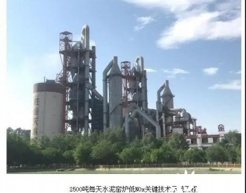 中科院工程热物理研究所在水泥窑炉低氮脱硝技术研