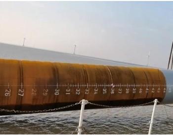 龙源振华完成江苏蒋家沙50MW海上风电项目首桩施工