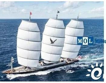 商船三井研发风帆+氢燃料电池动力船舶