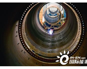 江苏南京:风电塔筒生产忙