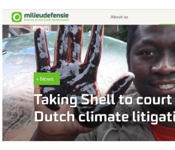 壳牌石油公司遭起诉,可能对全球化石燃料行业产生巨大影响