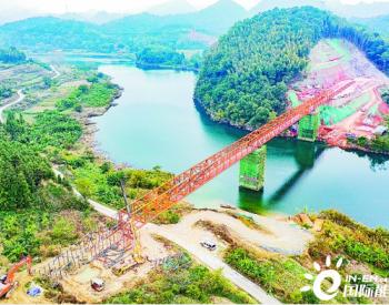 湖北潜江—广东韶关输气管道成功跨越武江