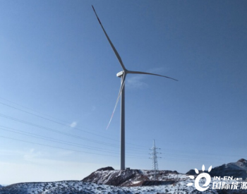 南京风电宁夏中卫项目首台机组成功并网发电