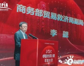 商务部贸易救济局李勰副局长从国际的角度为光伏行