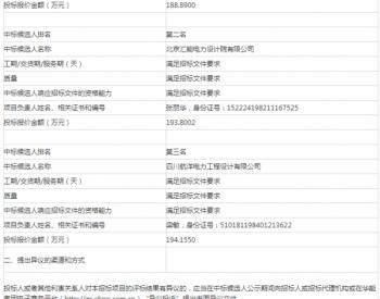 中标 | 甘肃庆阳(合水县、正宁县等)区域测风、测光塔采购