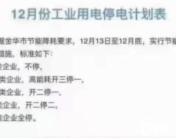 """年末出货旺季,""""世界工厂""""浙江义乌却拉闸限电"""