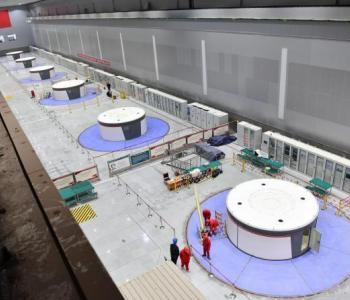 中国最大抽水蓄能电站最后一台机组并网发电