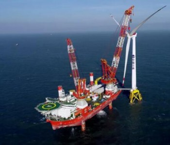 1.7GW!国内首台吸力筒导管架基础风机在广东阳江成功安装