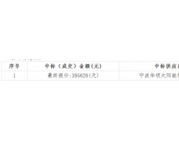 中标 | 浙江天成项目管理有限公司关于慈溪市崇寿