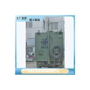 定制驭雷升降避雷针8米10米12米车用升降避雷针手动升降杆