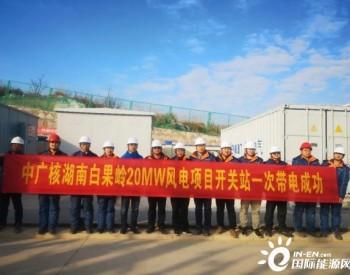 中广核新能源在湖南首个<em>分散式风电场</em>一次带电成功!