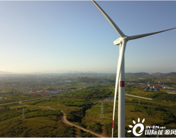 辽宁大连镇海100兆瓦风电项目46台风机全部并网发电