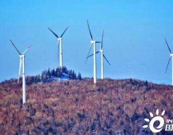 风机高耸 收银纳金 黑龙江宁安大唐<em>双岭风电项目</em>建设完成 陆续投产发电