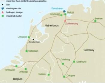 欧洲国家筹划利用天然气管道<em>输送</em>氢气