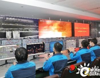 广东雷州市生活垃圾焚烧发电厂点火试运行