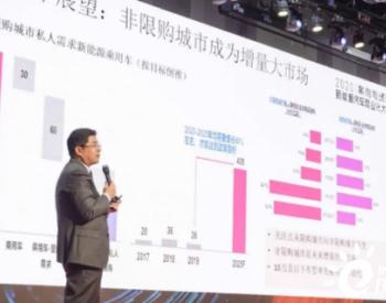 李金勇:明年新能源汽车产销200万辆