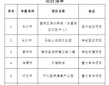湖南:关于2020年<em>浅层地热能</em>建筑规模化应用试点项目的公示