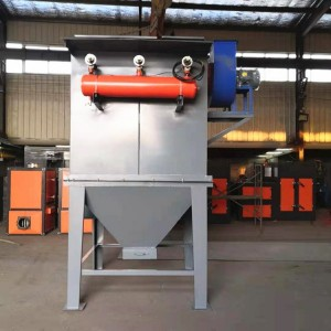河南焦作硅胶粉收集除尘设备立式滤筒除尘器工作原理说明