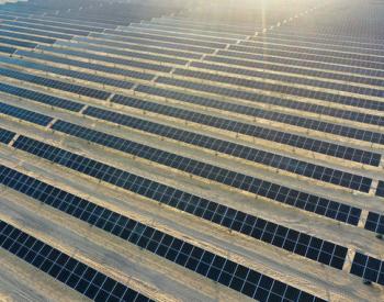 英利为中东地区大型双面电站提供高效光伏产品