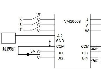 VM1000B系列变频器在大型冲床上的应用