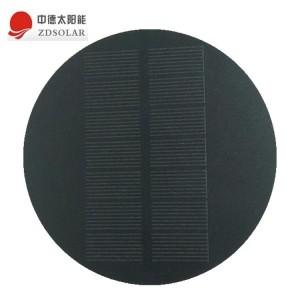 圆形-异型-太阳能滴胶板-太阳能充电板-太阳能光伏板