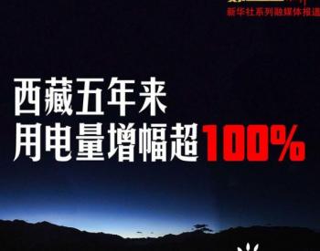 缺电成为历史 <em>西藏</em>全社会用电量5年翻倍