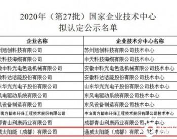"""<em>通威</em>太阳能成都公司荣获""""国家企业技术中心"""""""