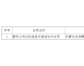 中标丨华润新能源(北票)风能有限公司辽宁<em>存珠风电场</em>GE风机备件维修中标候选人公示