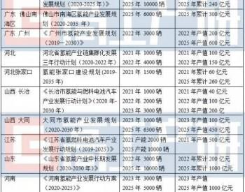 2021年中国氢能与氢燃料电池汽车产业十大预测