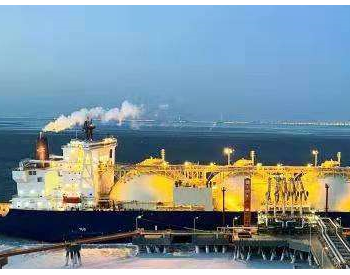 6.5万吨<em>货轮</em>停靠在汉央企承建的天津LNG接收站码头
