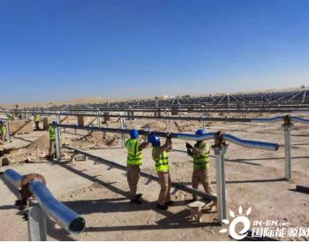 900MW!中国能建浙江火电承建迪拜最大光伏电站项目开工