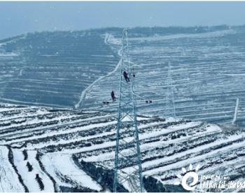 湖北工程公司甘肃通渭义岗风电场项目首批机组成功