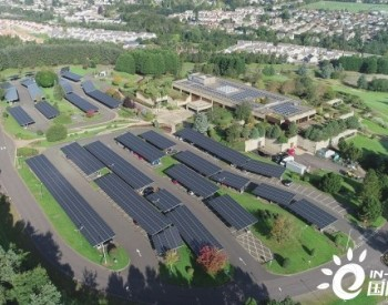韩华Q CELLS为英国最大保险公司Aviva打造停车场电站项目