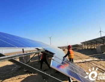 甘肃玉门市单体最大光伏项目并网发电