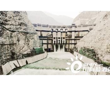 雅砻江杨房沟水电站下闸蓄水