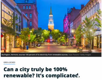 一个城市真的能实现100%可再生能源吗?