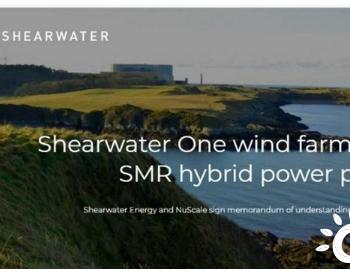 英国清洁能源公司计划与NuScale合作开发风能-SMR混合动力系统
