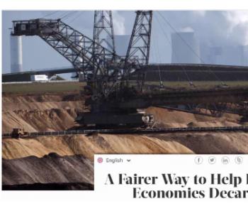 """哈佛大学教授倡议成立""""世界碳银行"""",助力发展中"""