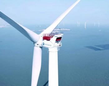 国内首台独立自主研发8.3MW海上风机成功吊装