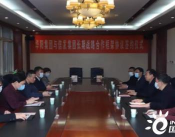 华阳信发签署长期战略合作协议