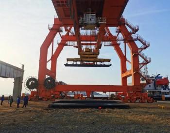 <em>中国</em>水电四局山东青岛基地承制的首个钢管桩项目顺利开工
