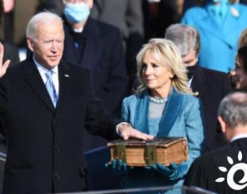 美国总统拜登当即宣布该国重返《巴黎协定》,全球