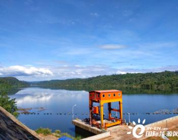 15MW!中国能建总承包建设老挝会兰庞雅下游水电站