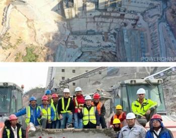 老挝南屯1水电站RCC混凝土日浇筑再破纪录