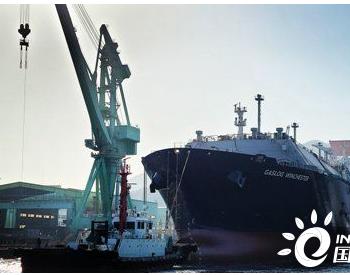 三星重工为GasLog建造第2艘18万方LNG船下水