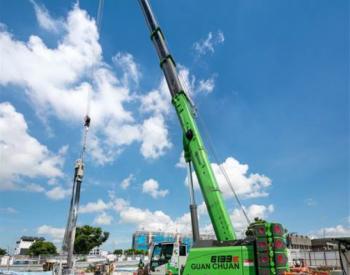 Sennebogen起重机助力荷兰风电设施建设