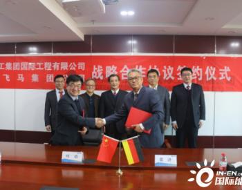 中国煤科科工国际与德国飞马集团公司签订战略合作
