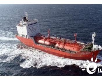 大鲜造船交付首艘韩国型加压式小型<em>LPG船</em>